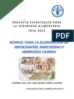 Manual Para Insumos Organicos Caseros
