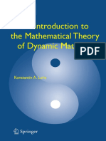 An Introduction to the Mathematical Theory of Dynamic Materials