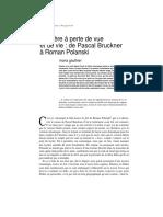 Pascal Bruckner Polanski - Mere a Perte de Vue