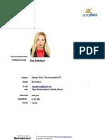 Dea Aptsiauri CV