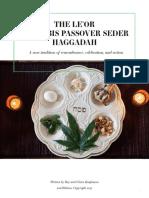 Le'Or Cannabis Passover Seder Haggadah - 2017 Edition