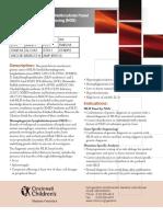 Familial Hemophagocytic Lymphohistiocytosis Test Information 4.10