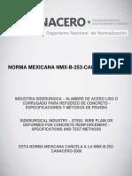 NMX-B-253-CANACERO-2013
