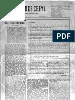 Revista Correo de CEFYL 1962