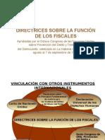 Directrices sobre la función de los fiscales.ppt