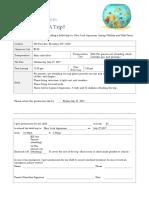 revised school field trip permission slip