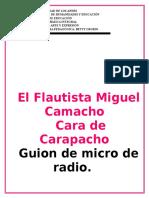 Guión de Micro de Radio