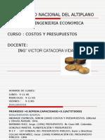 Costos Victor Fie