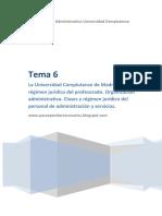 Tema 6 Auxiliares Administrativos UCM