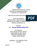 Ventilacion Localizada - Proyecto