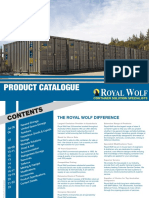 Royal Wolf Product Catalogue