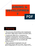 Chapter 11 -Training & Development