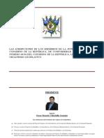 Atribuciones de Junta Directiva Del Congreso de La República 2017