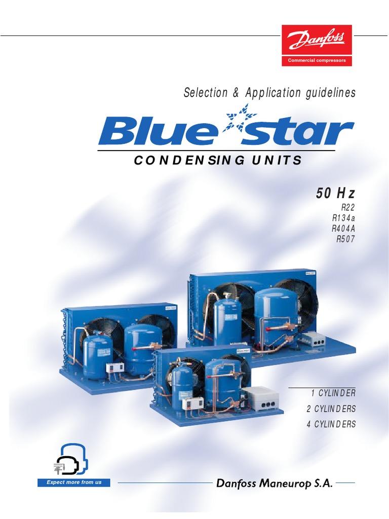 U. Condensadora Maneurop   Switch   Gas Compressor on