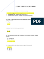Hydraulic System a320 Questions