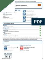 Historial Del Vehículo CARFAX - Mercedes-Benz SLK 200 Kompressor - WDB1704441F288844