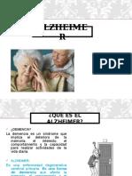 Alzheimer (Martes 25)