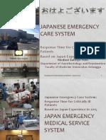 Japanese emergency care system