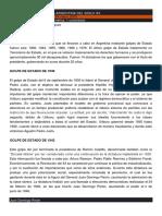 Golpes de Estado en La Argentina