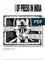 Freedom of Press In India