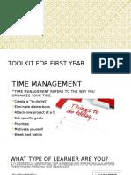 power point presentation- toolkit