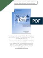 Phormium Materials and Design Finale