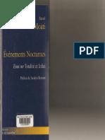 Raoul Moati, Evénements nocturnes, Essai sur Totalité et Infini
