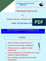 Sludge Treatment, Utilisation and Disposal