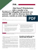 Que Hacer y Decir a La Familia en Psicos l Tizon Tizn2009