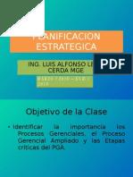 Clase No. 3 Planeacion Estrategica
