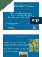 Chia Propiedades Nutricionales