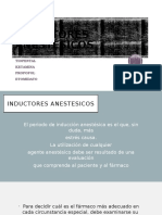 INDUCTORES-ANESTÉSICOS