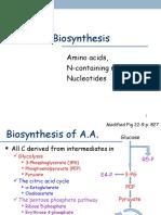 BC aa biosynthesis
