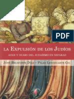 Belmonte Diaz Y Leseduarte Gil - La Expulsion de Los Judios