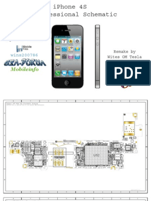 iPhone 4S schematic pdf