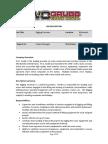 Job Description - (Richmond) Rigging Foreman