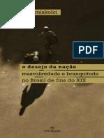 O Desejo Da Nação - Masculinidade e Branquitude No Brasil de Fins Do XIX - Richard Miskolci