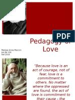 art 130 - exploring theory - pedagogy of love