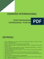 3 Teori Perdcagangan Internasionalteori Modern 3