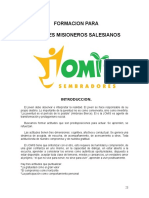 1.- JOMIS SEMBRADORES