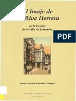 Linaje Riva-Herrera (Agüero) Santander, Cantabria.