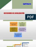Unidad 9 - Decisiones de Localización