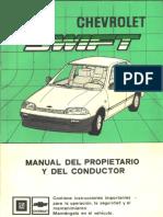 Manual Del Propietario Chevrolet Swift