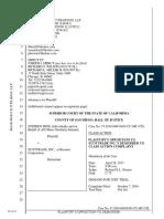 Plaintiff Hine's Opposition to Scottrade's Demurrer