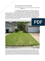 Property Modification for 7023 Dickson Way