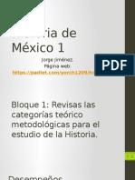 Bloque 1 Revisas Categorias Teórico Metodoloógicas Para El Estudio de La Historia