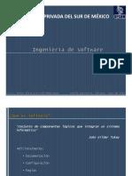 Ingeniería de Software - Unidades I y II