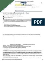 Ação Revisional de Financiamento de Veículo - Jus.com