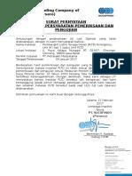 Surat Pernyataan LIT