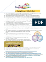 tips to develop ell literacy skills pdf